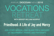 Annual Vocations Retreat with Bishop Murphy