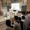 Prayerful Seminarians at an Inspiring Vocations Holy Hour at St. Patrick's Church in Bay Shore